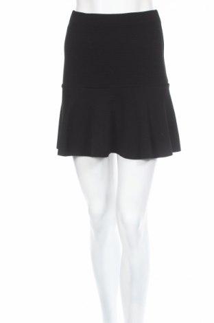 Пола H&M, Размер XS, Цвят Черен, 96% полиестер, 4% еластан, Цена 5,46лв.