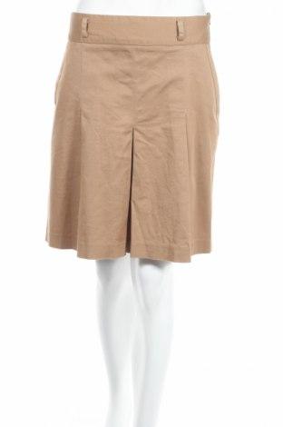 Пола Zara, Размер M, Цвят Бежов, 98% памук, 2% еластан, Цена 32,00лв.