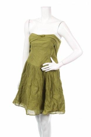Рокля Veronika Maine, Размер M, Цвят Зелен, 87% памук, 13% метални нишки, Цена 14,40лв.