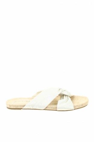 Papuci de casă Bpc Bonprix Collection, Mărime 41, Culoare Alb, Textil, Preț 80,69 Lei