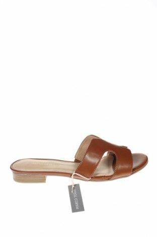 Papuci de casă Marco Tozzi, Mărime 40, Culoare Maro, Piele ecologică, Preț 78,74 Lei
