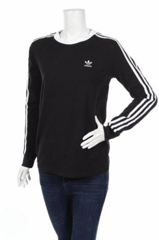 Bluză de femei Adidas Originals, Mărime M, Culoare Negru, 92% bumbac, 8% elastan, Preț 121,79 Lei