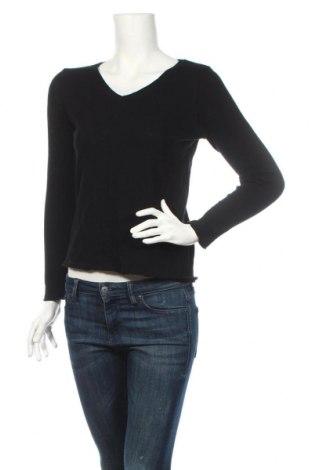 Дамска блуза American Vintage, Размер S, Цвят Черен, 100% памук, Цена 88,00лв.