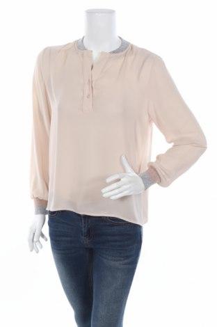 Дамска блуза Angela Davis, Размер M, Цвят Бежов, Цена 6,00лв.