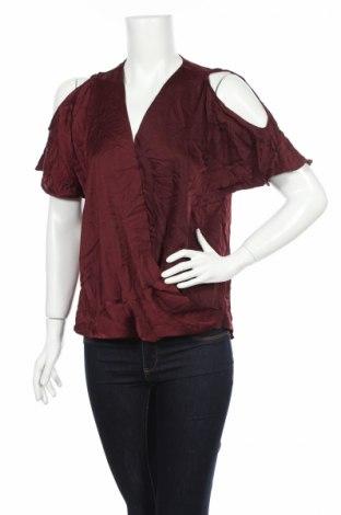 Γυναικεία μπλούζα Decjuba, Μέγεθος M, Χρώμα Κόκκινο, Πολυεστέρας, Τιμή 3,51€