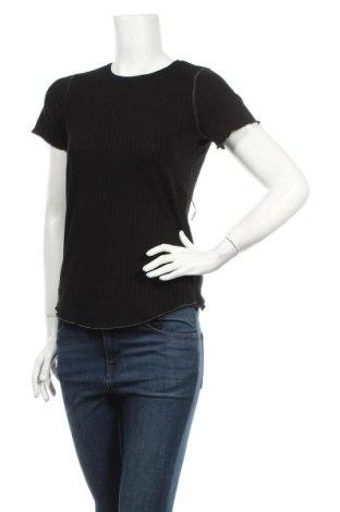 Дамска блуза Le Temps Des Cerises, Размер XS, Цвят Черен, 62% полиестер, 33% вискоза, 5% еластан, Цена 4,32лв.