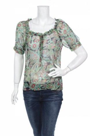 Дамска блуза Loft By Ann Taylor, Размер M, Цвят Многоцветен, Полиестер, Цена 7,35лв.