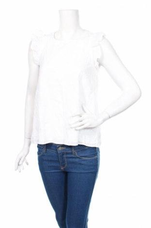 Дамска блуза Ltb, Размер M, Цвят Бял, Памук, Цена 29,90лв.