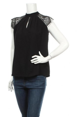 Дамска блуза Vila, Размер M, Цвят Черен, Полиамид, Цена 40,50лв.