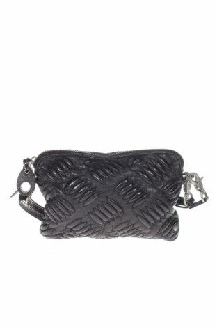 Γυναικεία τσάντα, Χρώμα Μαύρο, Γνήσιο δέρμα, Τιμή 21,53€