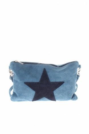 Dámská kabelka , Barva Modrá, Přírodní velur , Cena  593,00Kč