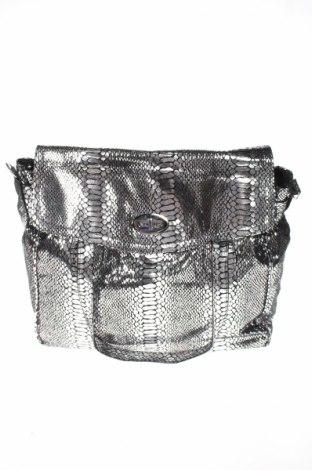 Női táska, Szín Ezüst, Eco bőr, Ár 5400 Ft
