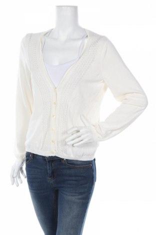 Дамска жилетка Loft By Ann Taylor, Размер XL, Цвят Бял, 58% памук, 42% вискоза, Цена 19,24лв.