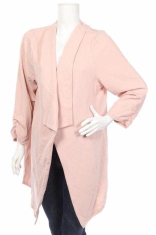 Дамска жилетка New Look, Размер XXL, Цвят Розов, 96% полиестер, 4% еластан, Цена 40,32лв.