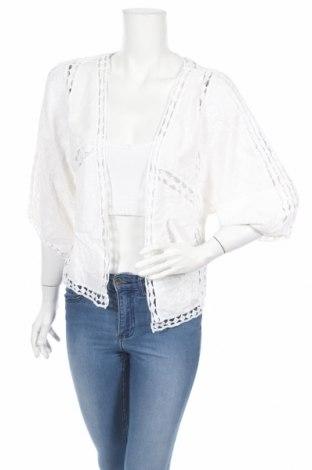 Дамска жилетка New Look, Размер S, Цвят Бял, Вискоза, Цена 38,88лв.