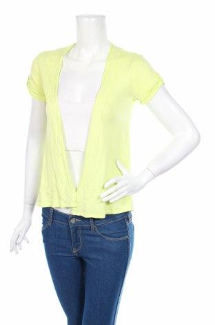 Дамска жилетка Target, Размер L, Цвят Жълт, Памук, модал, Цена 6,40лв.