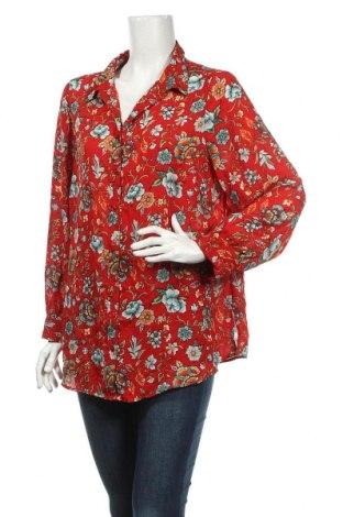 Дамска риза Marks & Spencer Autograph, Размер L, Цвят Многоцветен, Полиестер, Цена 6,30лв.