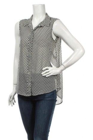 Дамска риза H&M, Размер M, Цвят Бял, Полиестер, Цена 4,46лв.