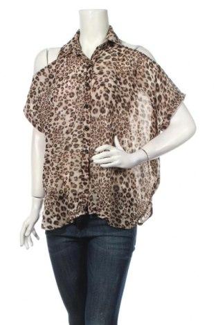 Дамска риза Supre, Размер XS, Цвят Многоцветен, Полиестер, Цена 4,73лв.