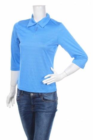 Дамска спортна блуза Adidas, Размер S, Цвят Син, Полиестер, Цена 11,91лв.