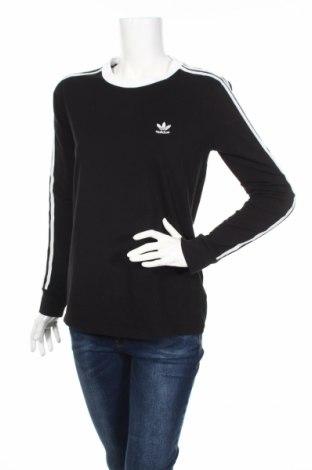 Dámska športová blúzka Adidas Originals, Veľkosť M, Farba Čierna, 93% bavlna, 7% elastan, Cena  23,38€