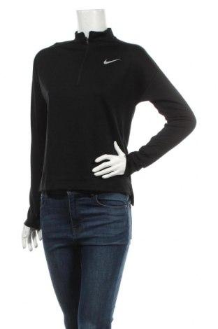 Bluză trening de femei Nike, Mărime S, Culoare Negru, Poliester, elastan, Preț 112,21 Lei