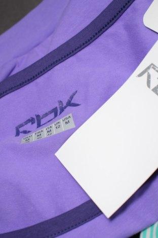 Дамска спортна блуза Reebok, Размер M, Цвят Лилав, 95% памук, 5% еластан, Цена 7,47лв.