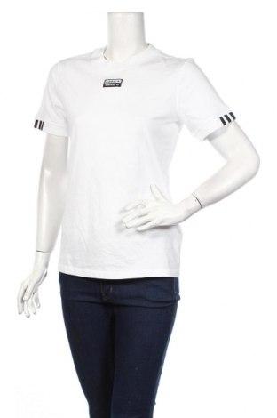 Дамска тениска Adidas Originals, Размер M, Цвят Бял, Памук, Цена 37,44лв.