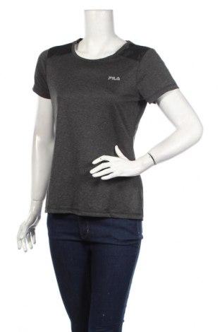 Tricou de femei Fila, Mărime M, Culoare Gri, Poliester, Preț 29,84 Lei