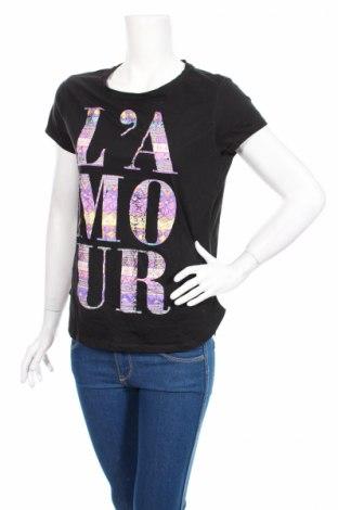 Tricou de femei Girl Xpress, Mărime M, Culoare Negru, Bumbac, poliester, Preț 42,44 Lei