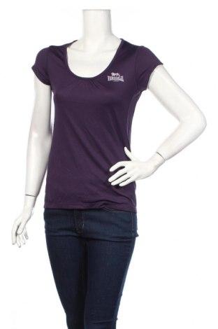 Tricou de femei Lonsdale, Mărime S, Culoare Mov, Poliester, elastan, Preț 14,92 Lei