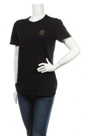 Dámske tričko Versace Underwear, Veľkosť S, Farba Čierna, 94% bavlna, 6% elastan, Cena  38,21€