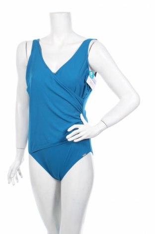 Costum de baie de damă Aqua, Mărime XL, Culoare Albastru, Poliester, Preț 78,74 Lei