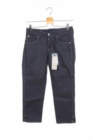 Дамски дънки G-Star Raw, Размер XS, Цвят Син, 76% памук, 22% лиосел, 2% еластан, Цена 176,79лв.