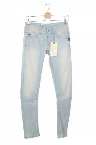 Дамски дънки G-Star Raw, Размер S, Цвят Син, 98% памук, 2% еластан, Цена 32,24лв.