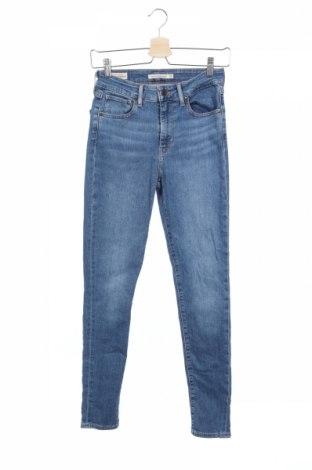Blugi de femei Levi's, Mărime S, Culoare Albastru, 97% bumbac, 3% elastan, Preț 266,63 Lei