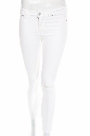 Дамски дънки Ltb, Размер S, Цвят Бял, 92% памук, 6% полиестер, 2% еластан, Цена 56,07лв.