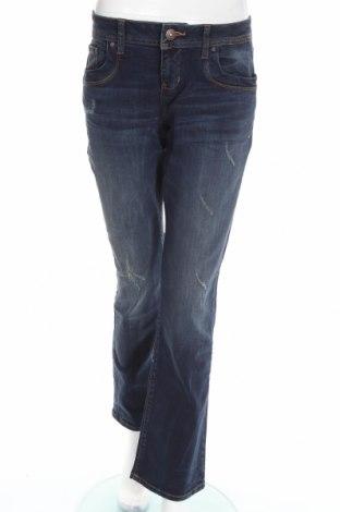 Дамски дънки Ltb, Размер L, Цвят Син, 98% памук, 2% еластан, Цена 56,07лв.