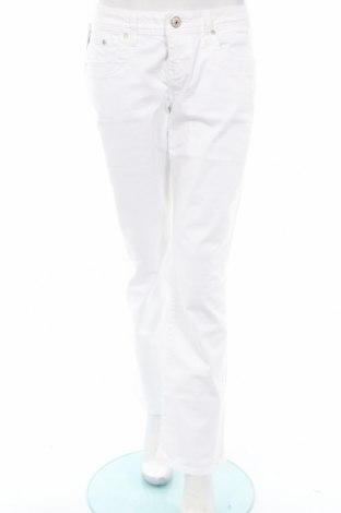 Дамски дънки Ltb, Размер M, Цвят Бял, 98% памук, 2% еластан, Цена 56,07лв.