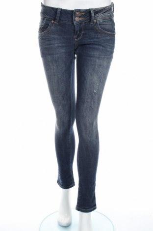 Дамски дънки Ltb, Размер S, Цвят Син, 98% памук, 2% еластан, Цена 45,36лв.