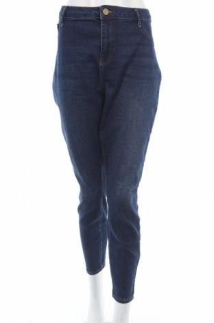 Dámské džíny  River Island, Rozměr XXL, Barva Modrá, 82% bavlna, 13% modal, 4% elastan, Cena  616,00Kč
