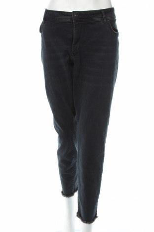 Blugi de femei Tom Tailor, Mărime XXL, Culoare Albastru, 91% bumbac, 7% poliester, 2% elastan, Preț 149,16 Lei