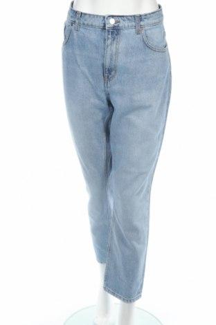 Damskie jeansy Weekday, Rozmiar XL, Kolor Niebieski, Bawełna, Cena 105,00zł