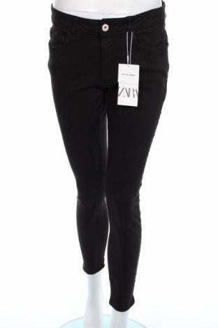 Γυναικείο Τζίν Zara, Μέγεθος L, Χρώμα Μαύρο, 92% βαμβάκι, 8% ελαστάνη, Τιμή 30,41€