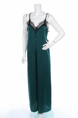 Salopetă de femei Zara, Mărime S, Culoare Verde, Poliester, Preț 151,76 Lei
