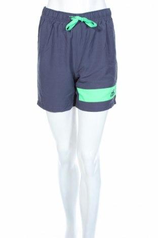 Дамски къс панталон Adidas, Размер S, Цвят Син, Полиестер, Цена 13,70лв.