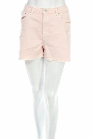 Дамски къс панталон Ltb, Размер L, Цвят Розов, 98% памук, 2% еластан, Цена 16,80лв.