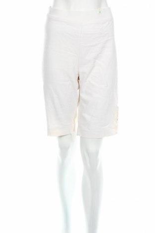 Γυναικείο κοντό παντελόνι Millers, Μέγεθος L, Χρώμα Εκρού, 85% πολυεστέρας, 12% βισκόζη, 3% ελαστάνη, Τιμή 5,36€