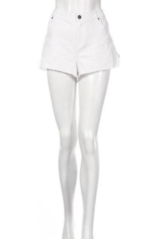 Дамски къс панталон Now, Размер XL, Цвят Бял, Памук, полиестер, еластан, Цена 13,44лв.
