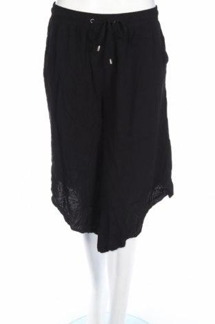 Дамски панталон Rivers, Размер M, Цвят Черен, 100% вискоза, Цена 20,16лв.